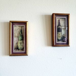 2 Wine Wall Art Pictures